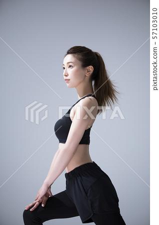 여성 운동 스포츠 스포츠웨어 요가웨어 57103010