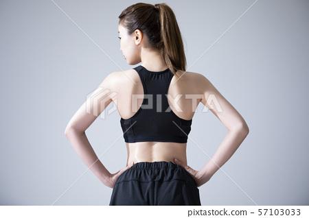 女子運動運動服瑜伽服 57103033