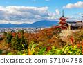 beautiful architecture at Kiyomizu-dera buddhism 57104788