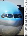 공항의 비행기 57114011