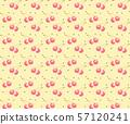 색연필 기호 체리 패턴 57120241
