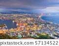 Hakodate, Hokkaido, Japan city skyline 57134522
