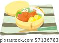 手工製作的午餐盒 57136783