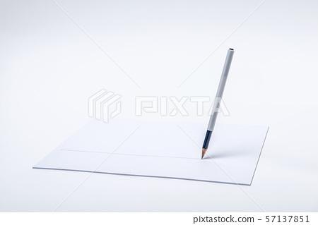몽땅연필,흰종이 57137851