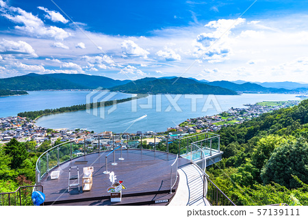 <<Kyoto Prefecture>> From Amanohashidate/Kasamatsu Park 57139111
