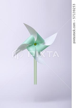 바람개비,녹색 57139253