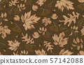 Autumn seamless pattern with leaf background. 57142088