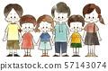 兒童 - 微笑 - 水彩畫 57143074