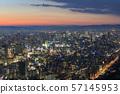 Osaka City, Urban Landscape, Namba-Umeda 57145953