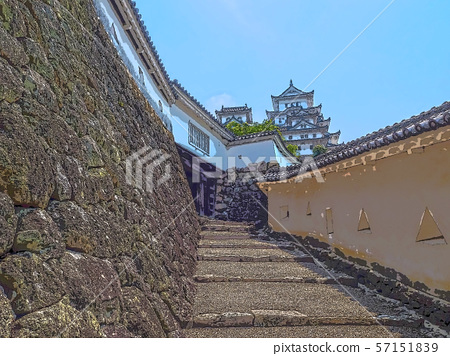 Himeji Castle illustration finish 57151839