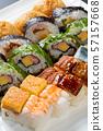 Various sushi 57157668