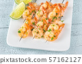 Shrimp skewers 57162127