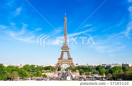 세계 유산 파리의 세느 강변 에펠 탑 57165120
