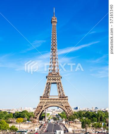 세계 유산 파리의 세느 강변 에펠 탑 세로 57165340