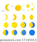 Phases of the moon 57165653
