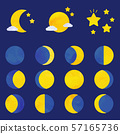 Moon phases (vector version) 57165736