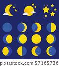 달의 위상 (벡터 버전) 57165736