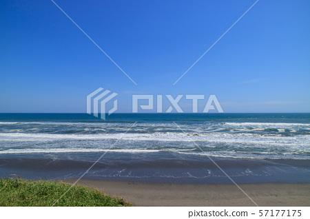 쿠쥬 쿠리 해안 이리 도시 중리 해수욕장 부근 57177175