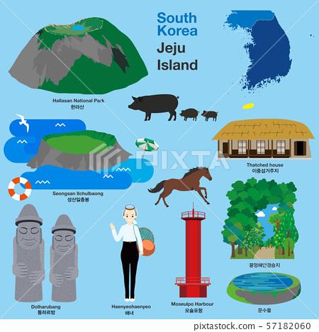 韩国旅行济州岛地标 57182060
