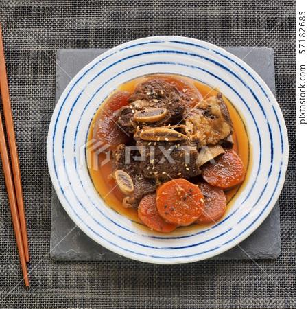 한국의 음식 소고기 갈비찜 57182685