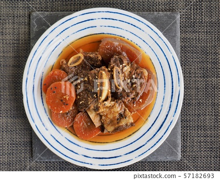 한국의 음식 소고기 갈비찜 57182693