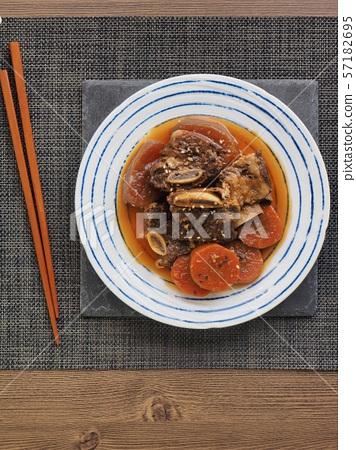 한국의 음식 소고기 갈비찜 57182695