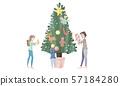 크리스마스 장식 57184280