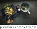 Soup chicken 57186731