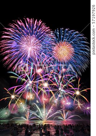 [여름 이미지] 불꽃 놀이 57197926