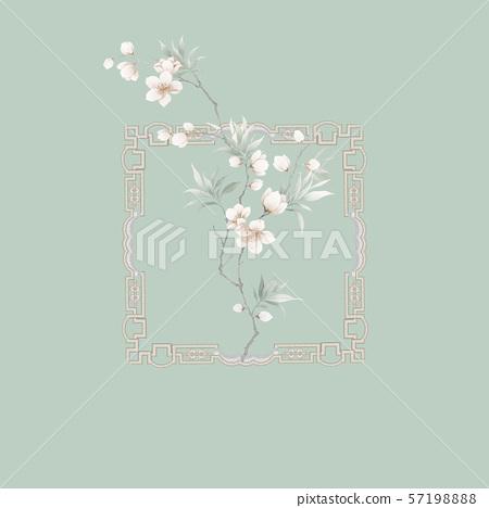 中國風水彩花卉集 57198888