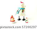크리스마스 눈사람 57200297