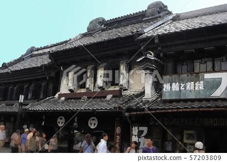 Japan Kawagoe sightseeing image 57203809
