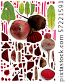 Beetroot Collection Abstract 57221591