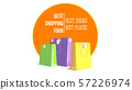 Best shopping tour. Template of design advertising 57226974