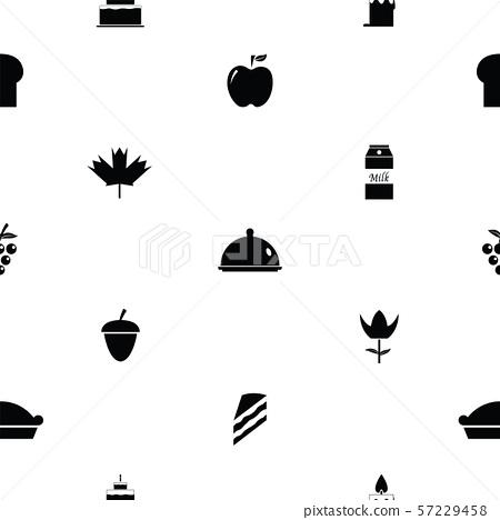 thanksgiving seamless pattern background icon. 57229458