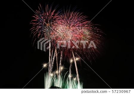 Summer festival fireworks display 57230967