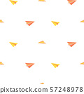 Seamless pattern paper planes minimalistic tribal style vector. 57248978