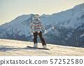 snowboard, snow, skier 57252580