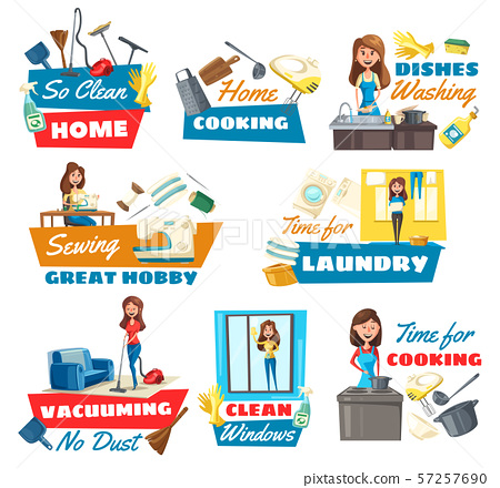 Housewife chores and hobbies, kitchen utensil 57257690