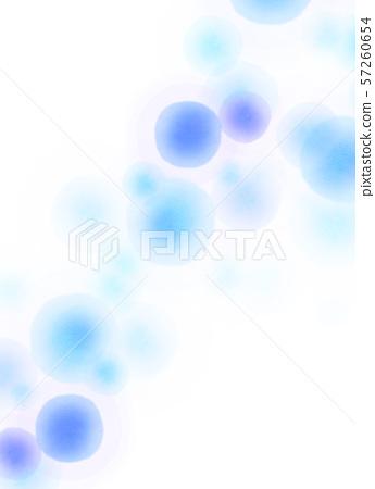 Round pattern blue texture - Stock Illustration [57260654] - PIXTA