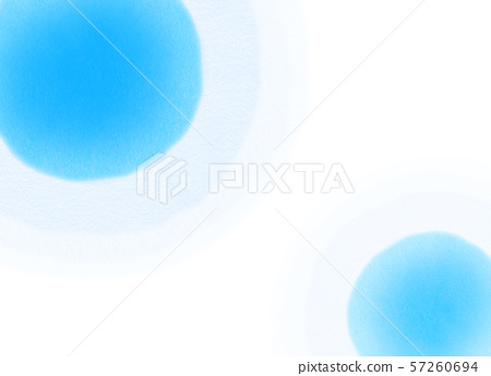 Round pattern blue texture - Stock Illustration [57260694] - PIXTA