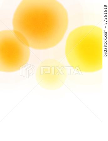 둥근 모양 오렌지 텍스처 57261619