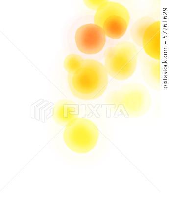 둥근 모양 오렌지 텍스처 57261629