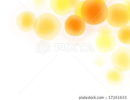 둥근 모양 오렌지 텍스처 57261633