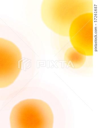 둥근 모양 오렌지 텍스처 57261687