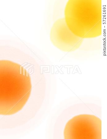 둥근 모양 오렌지 텍스처 57261691