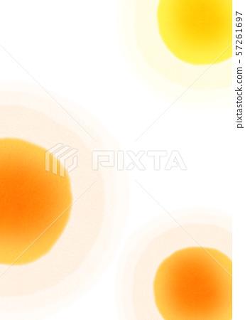 둥근 모양 오렌지 텍스처 57261697