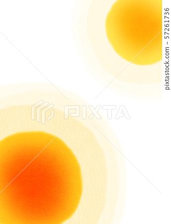 둥근 모양 오렌지 텍스처 57261736