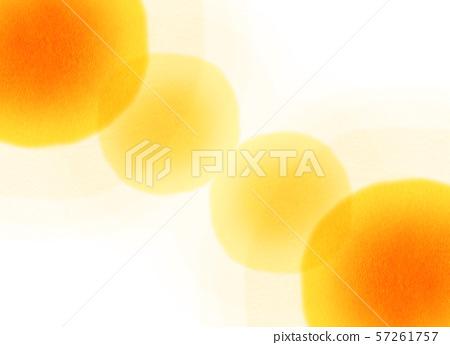둥근 모양 오렌지 텍스처 57261757