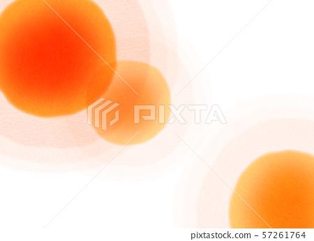 둥근 모양 오렌지 텍스처 57261764